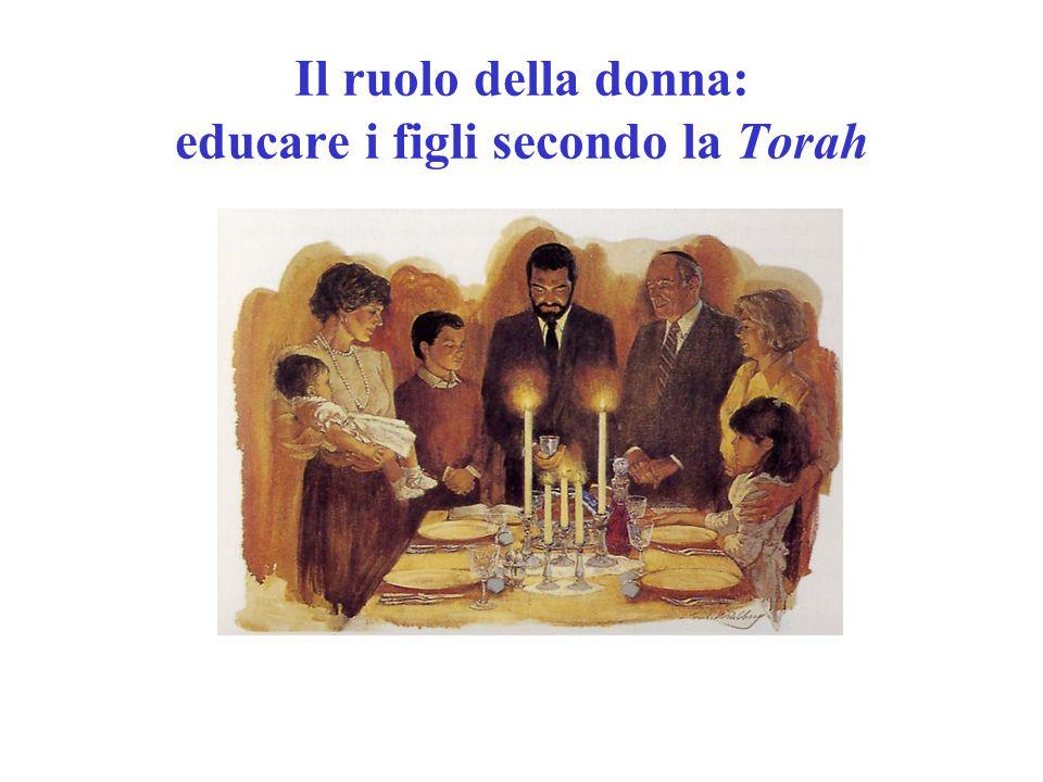 Il ruolo della donna: educare i figli secondo la Torah