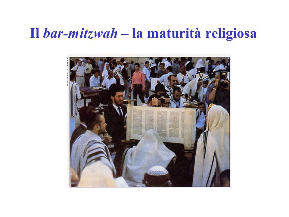 Il bar-mitzwah – la maturità religiosa