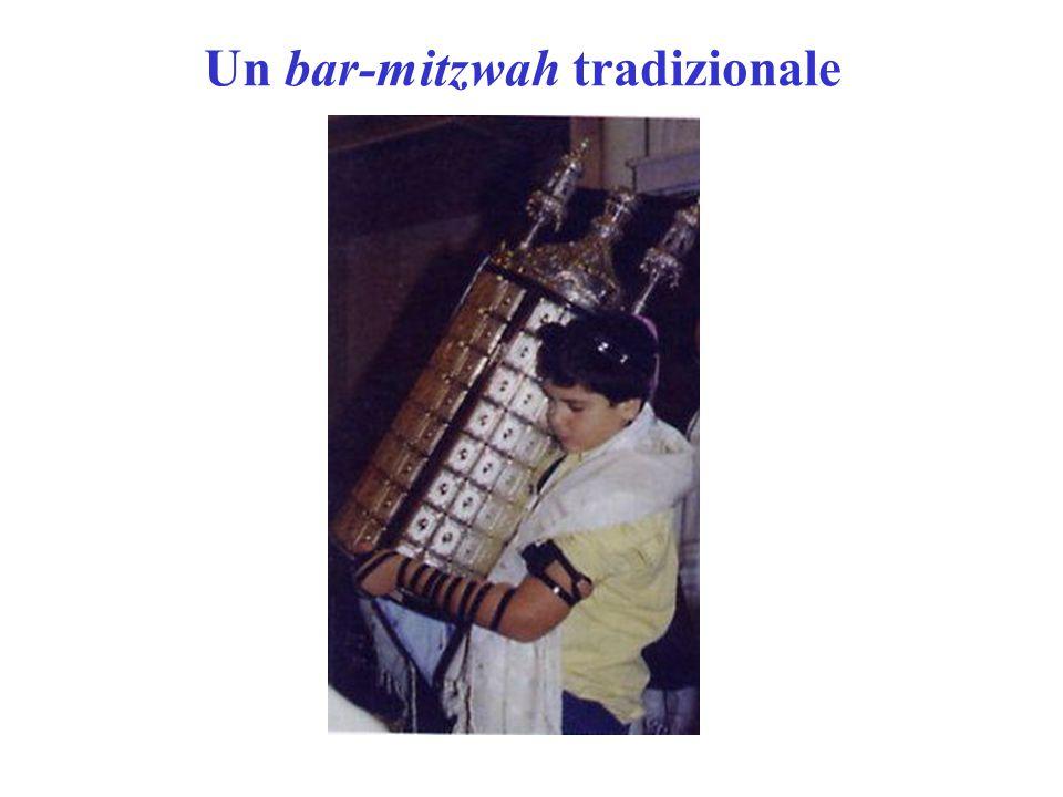 Un bar-mitzwah tradizionale