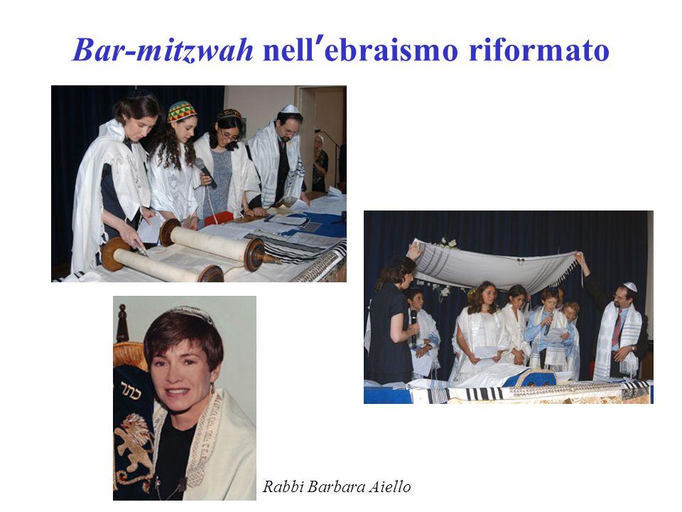 Bar-mitzwah nell'ebraismo riformato