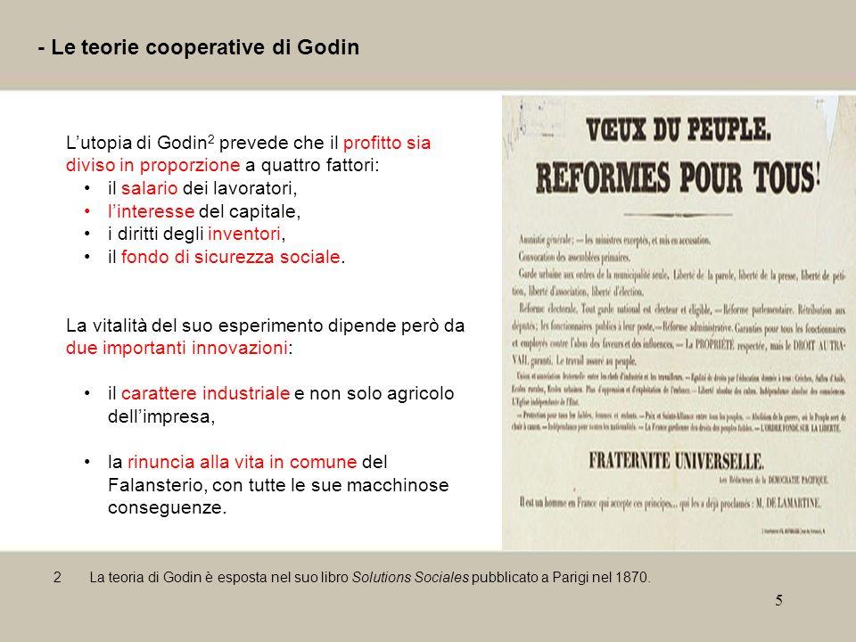 - Le teorie cooperative di Godin