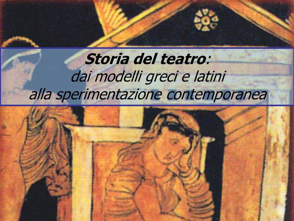 dai modelli greci e latini alla sperimentazione contemporanea