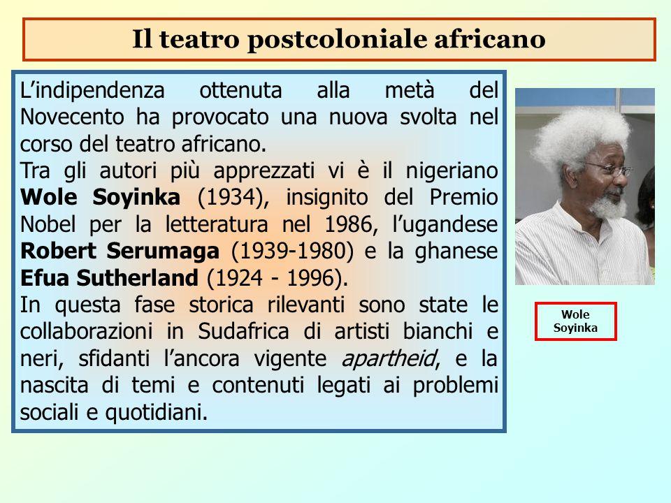 Il teatro postcoloniale africano