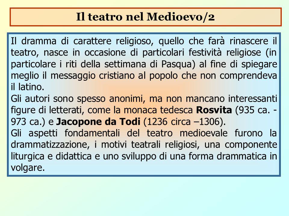 Il teatro nel Medioevo/2