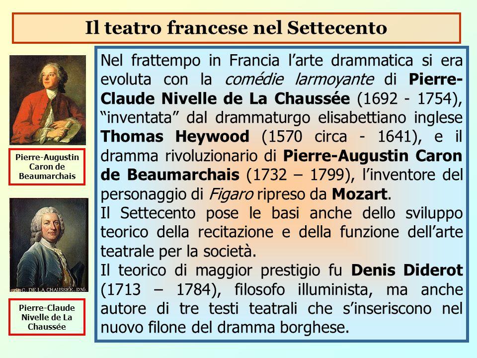 Il teatro francese nel Settecento