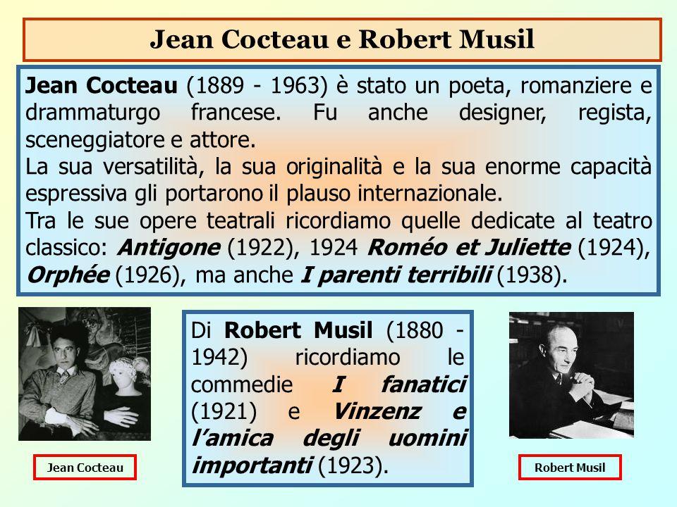 Jean Cocteau e Robert Musil