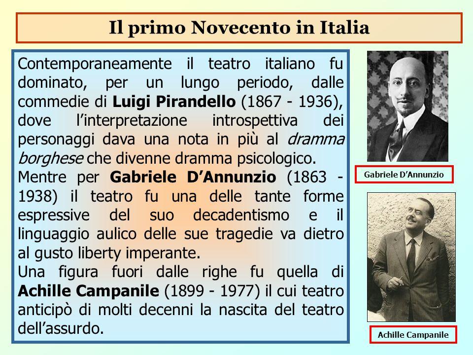 Il primo Novecento in Italia