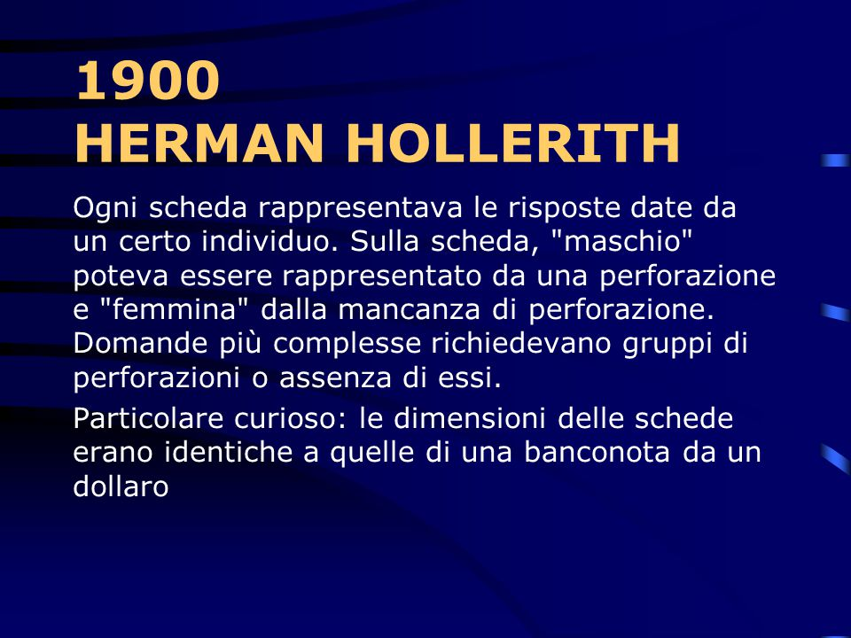1900 HERMAN HOLLERITH
