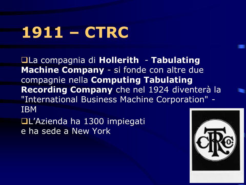 1911 – CTRC
