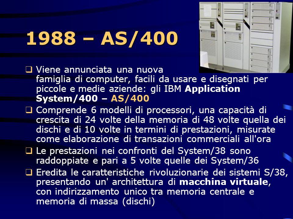 1988 – AS/400
