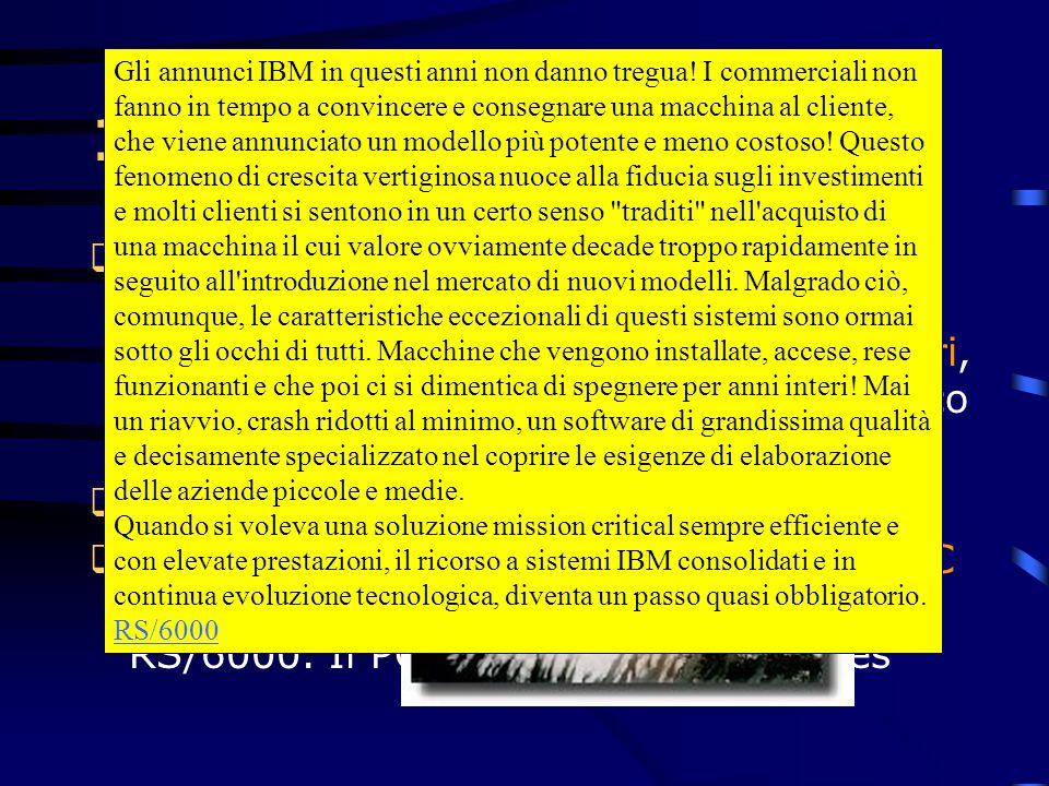Gli annunci IBM in questi anni non danno tregua