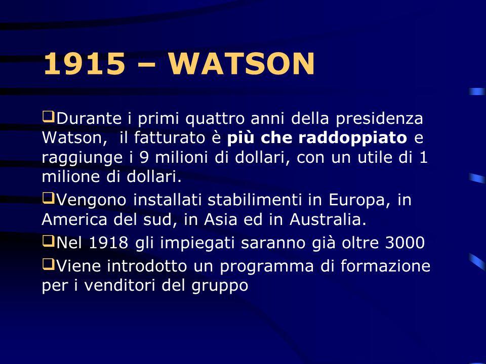 1915 – WATSON