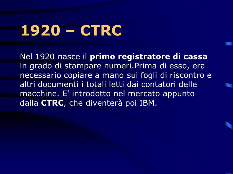1920 – CTRC