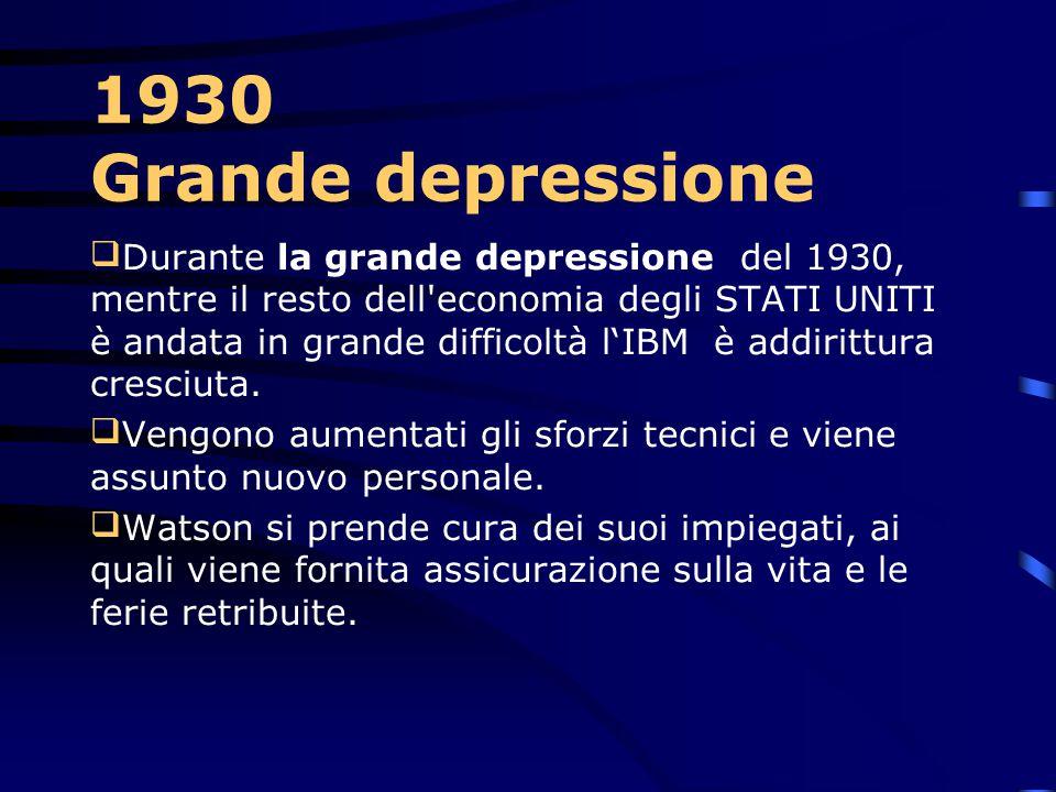 1930 Grande depressione