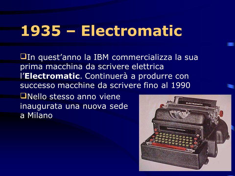 1935 – Electromatic