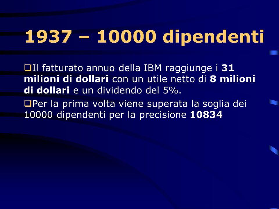 1937 – 10000 dipendenti