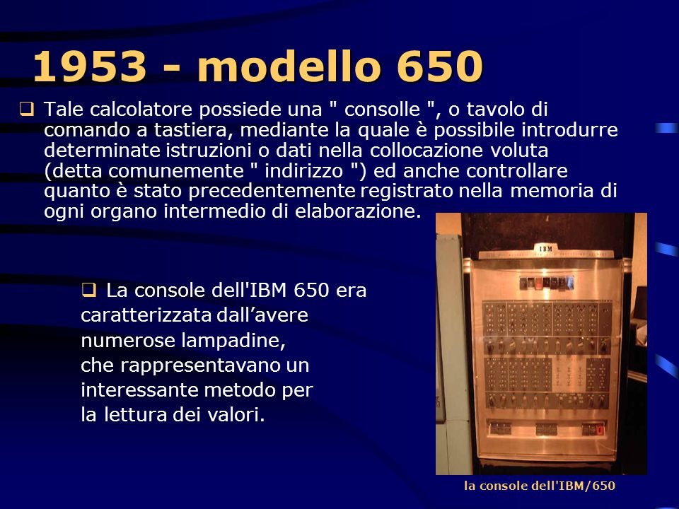 1953 - modello 650