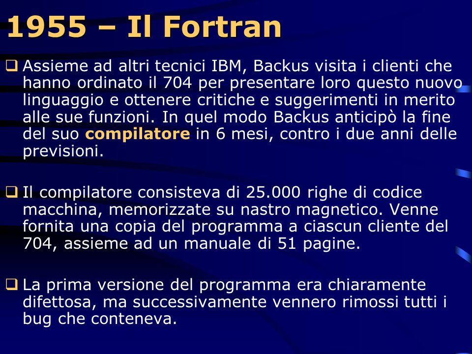 1955 – Il Fortran