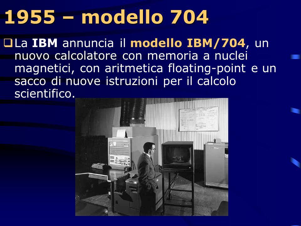 1955 – modello 704