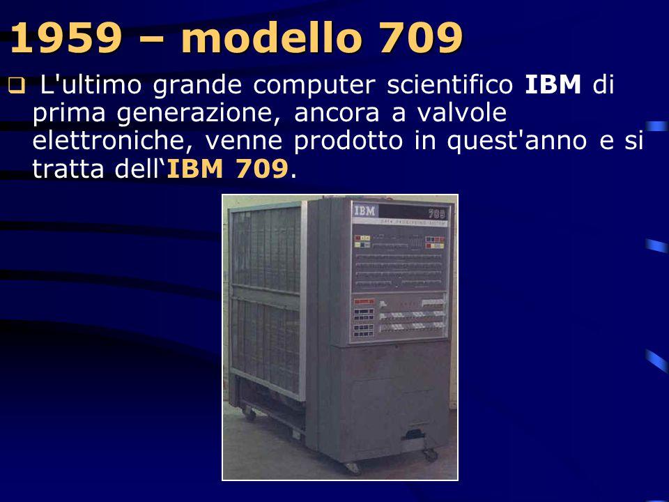 1959 – modello 709