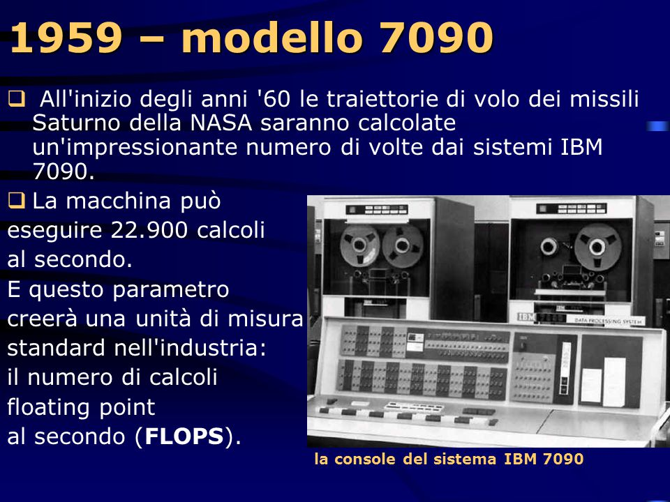 1959 – modello 7090