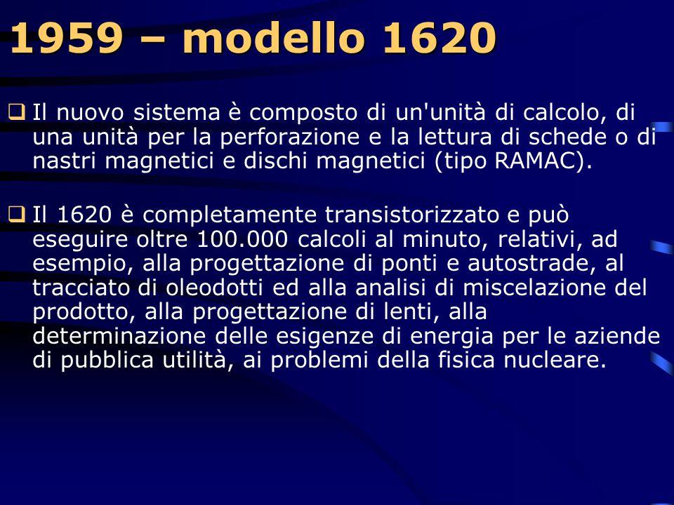 1959 – modello 1620