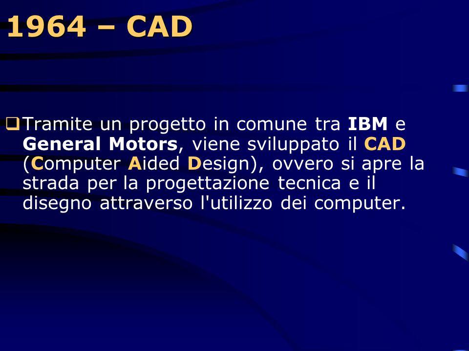 1964 – CAD