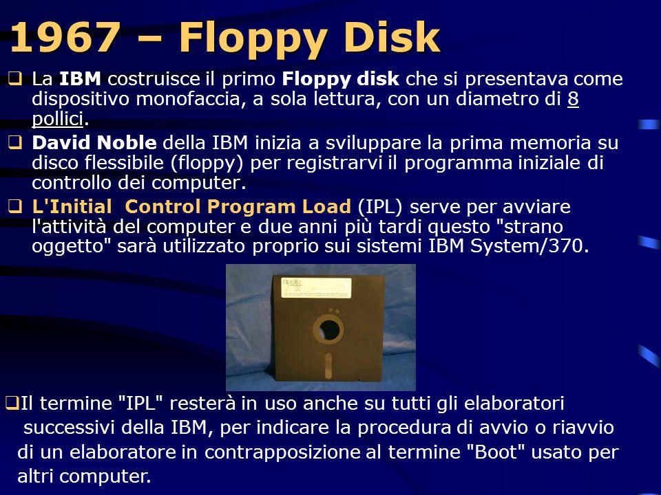 1967 – Floppy Disk