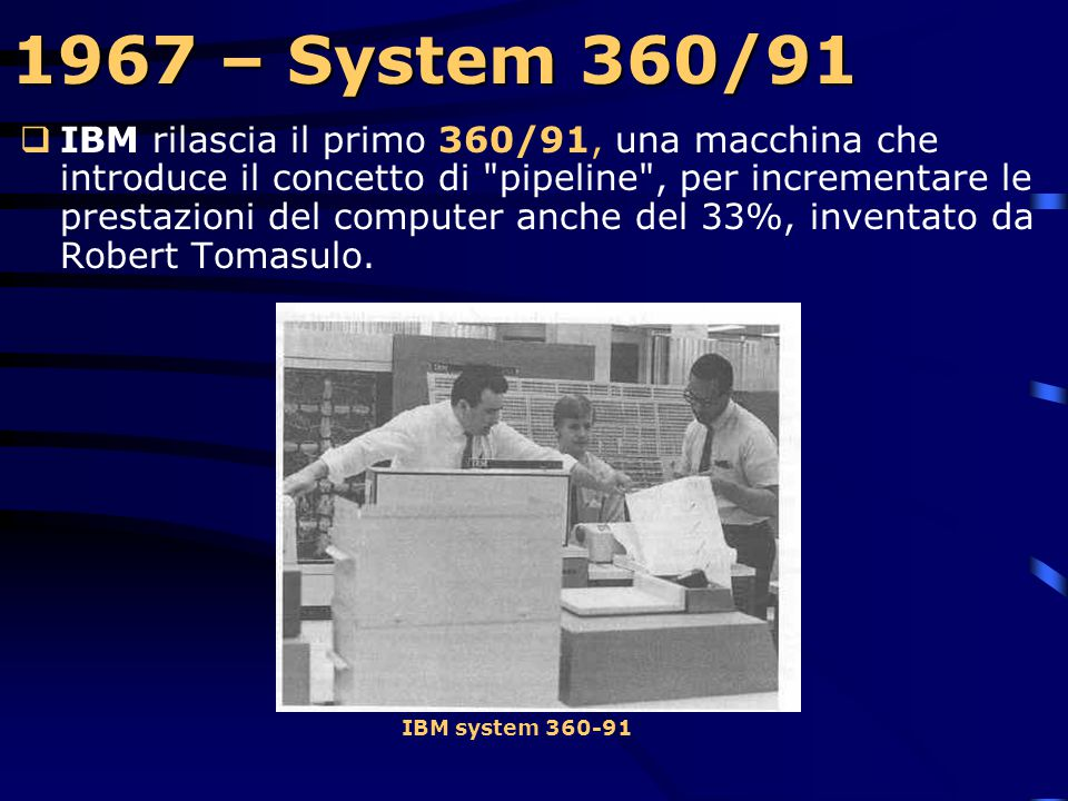 1967 – System 360/91