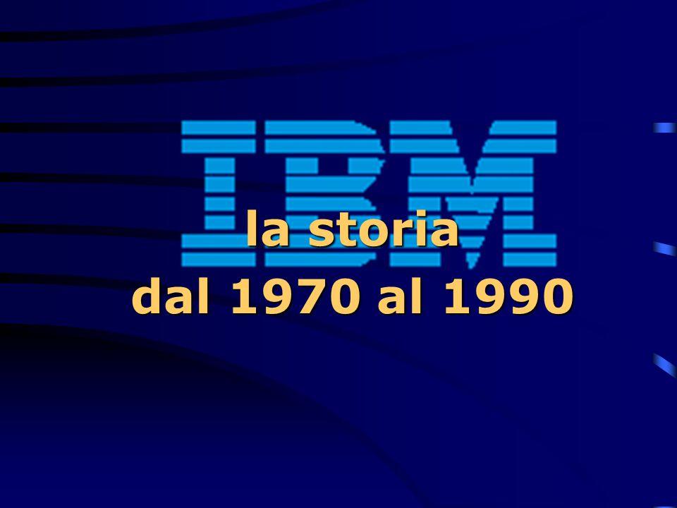 la storia dal 1970 al 1990