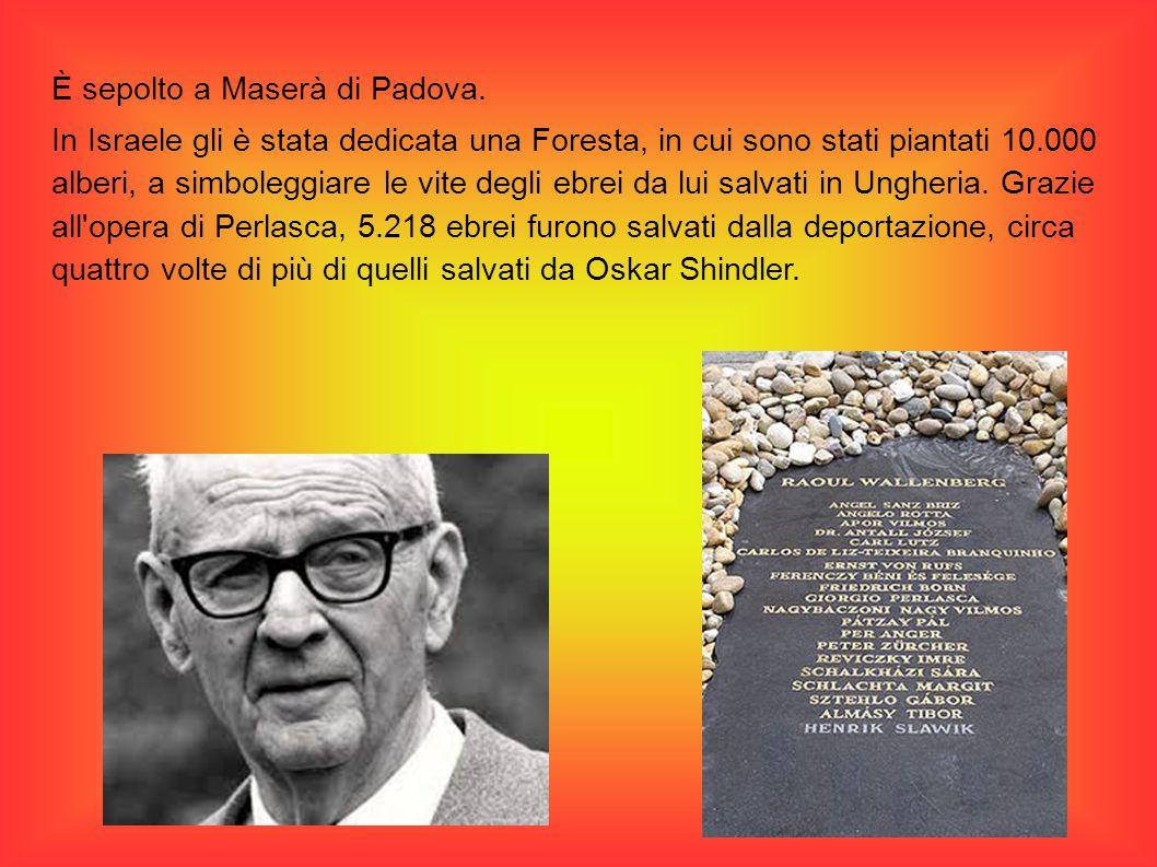 È sepolto a Maserà di Padova.