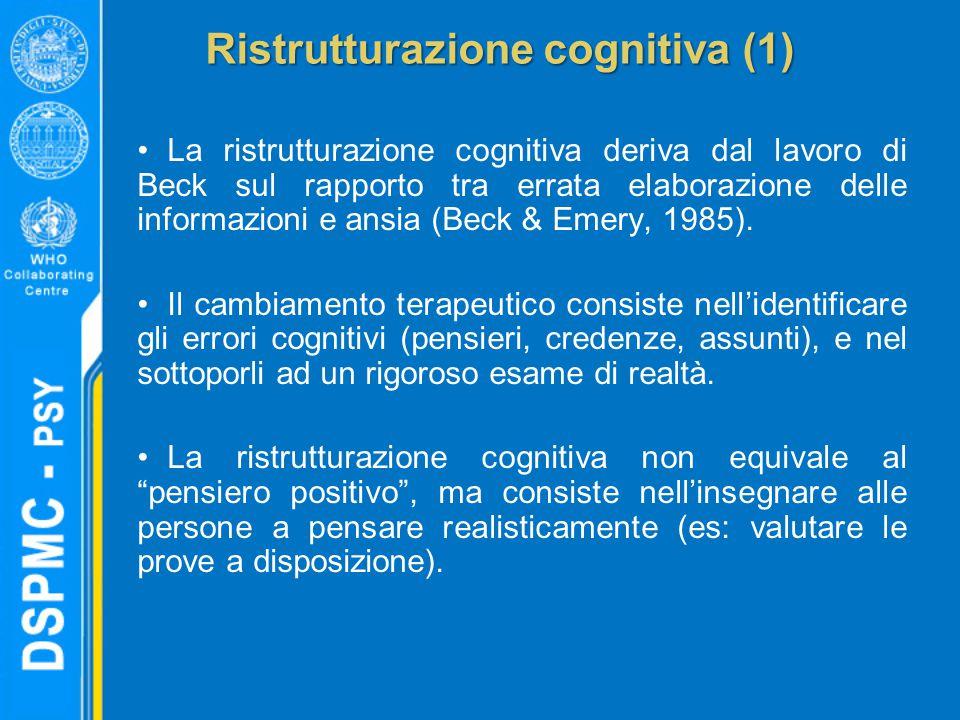 Ristrutturazione cognitiva (1)