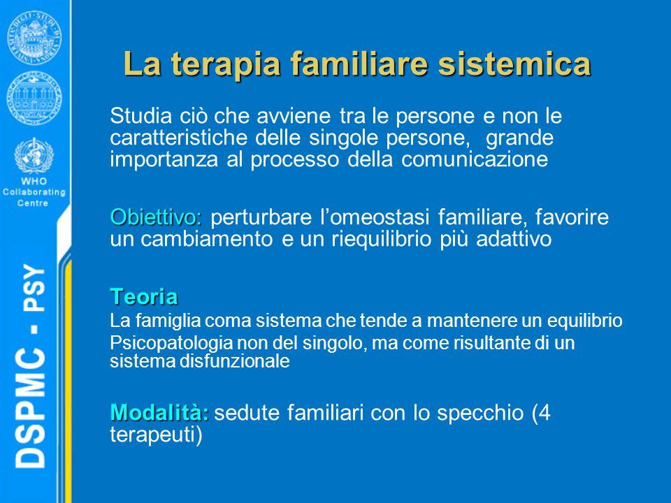 La terapia familiare sistemica