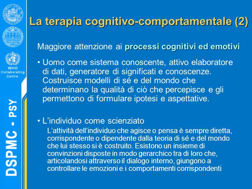 La terapia cognitivo-comportamentale (2)