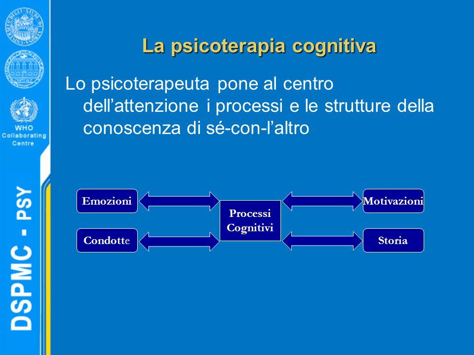 La psicoterapia cognitiva