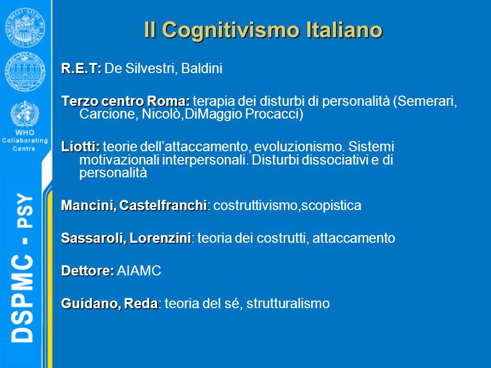 Il Cognitivismo Italiano