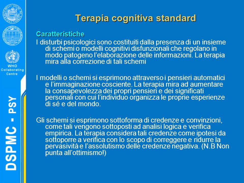 Terapia cognitiva standard