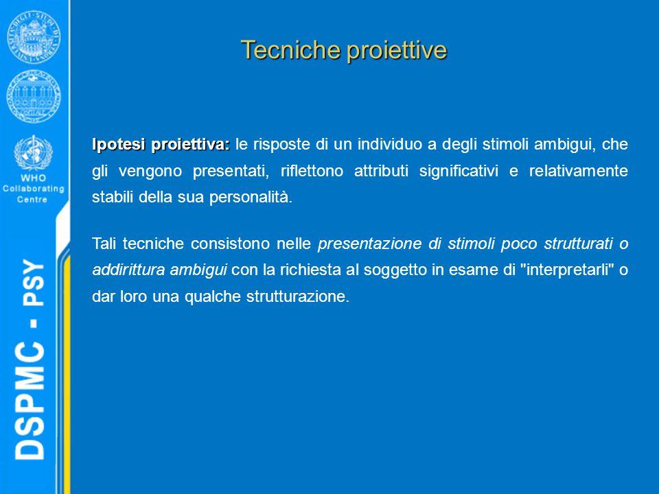Tecniche proiettive