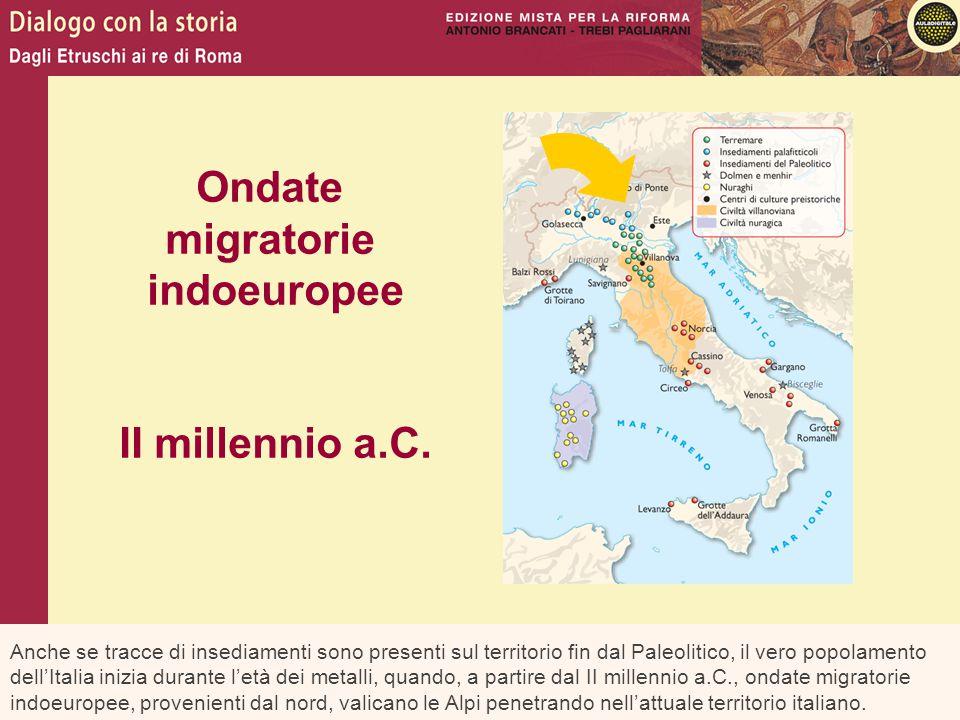 Ondate migratorie indoeuropee II millennio a.C.
