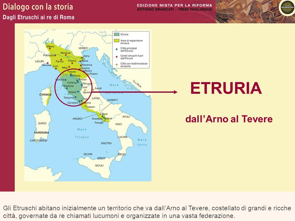 ETRURIA dall'Arno al Tevere