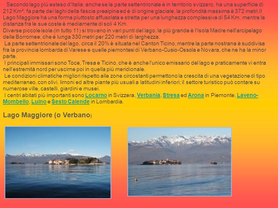Lago Maggiore (o Verbano)