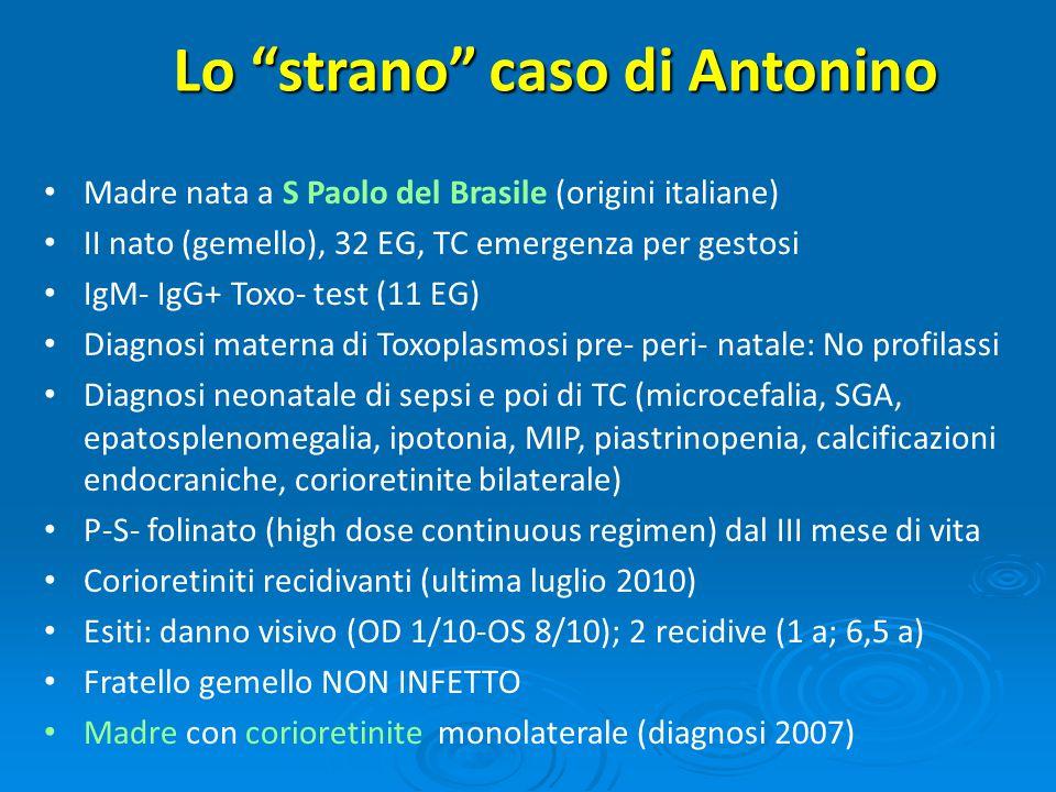 Lo strano caso di Antonino