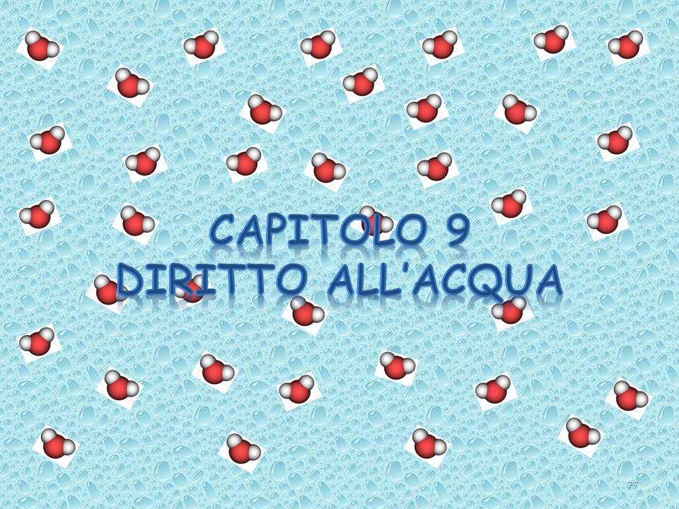 CAPITOLO 9 Diritto all'acqua