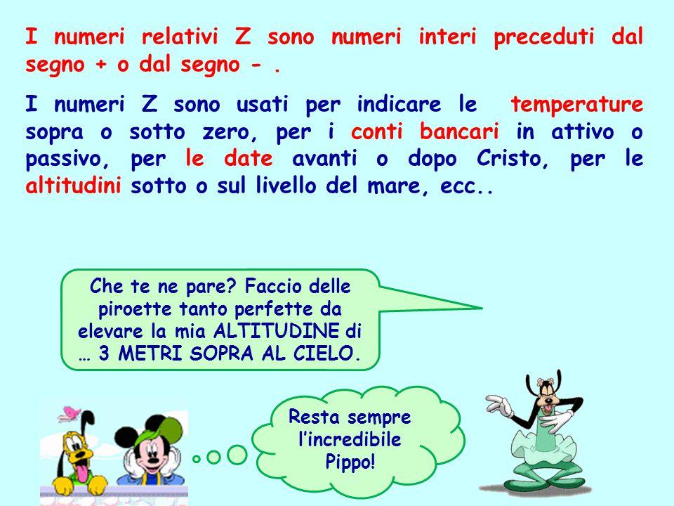 Resta sempre l'incredibile Pippo!