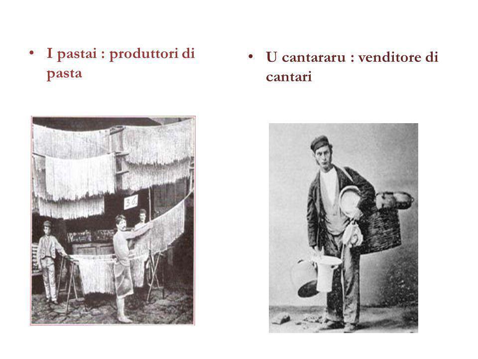 I pastai : produttori di pasta
