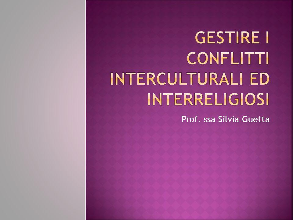 Gestire i conflitti interculturali ed interreligiosi
