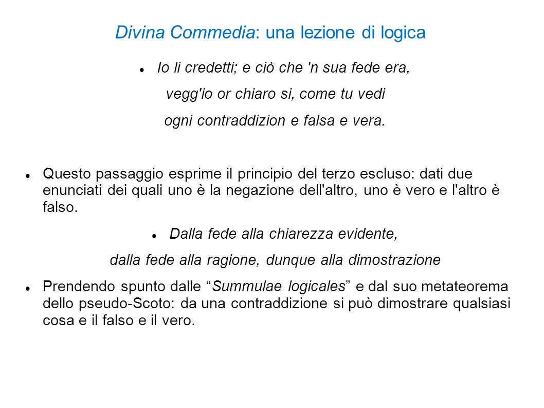 Divina Commedia: una lezione di logica