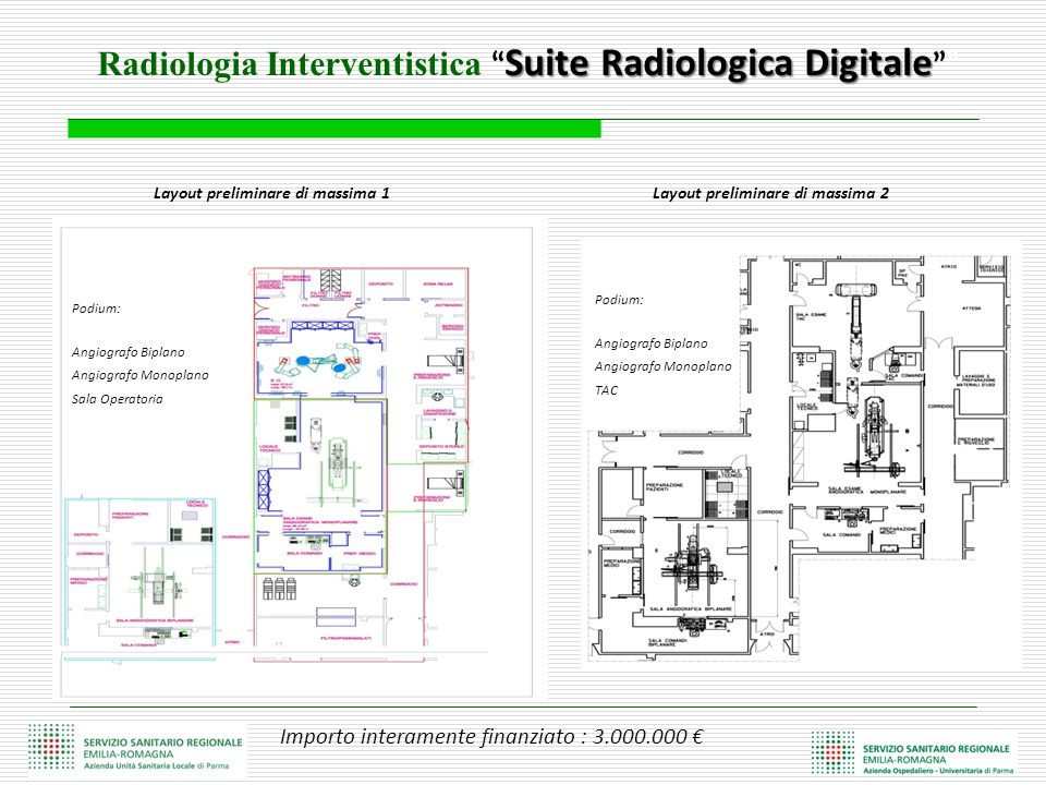 Radiologia Interventistica Suite Radiologica Digitale