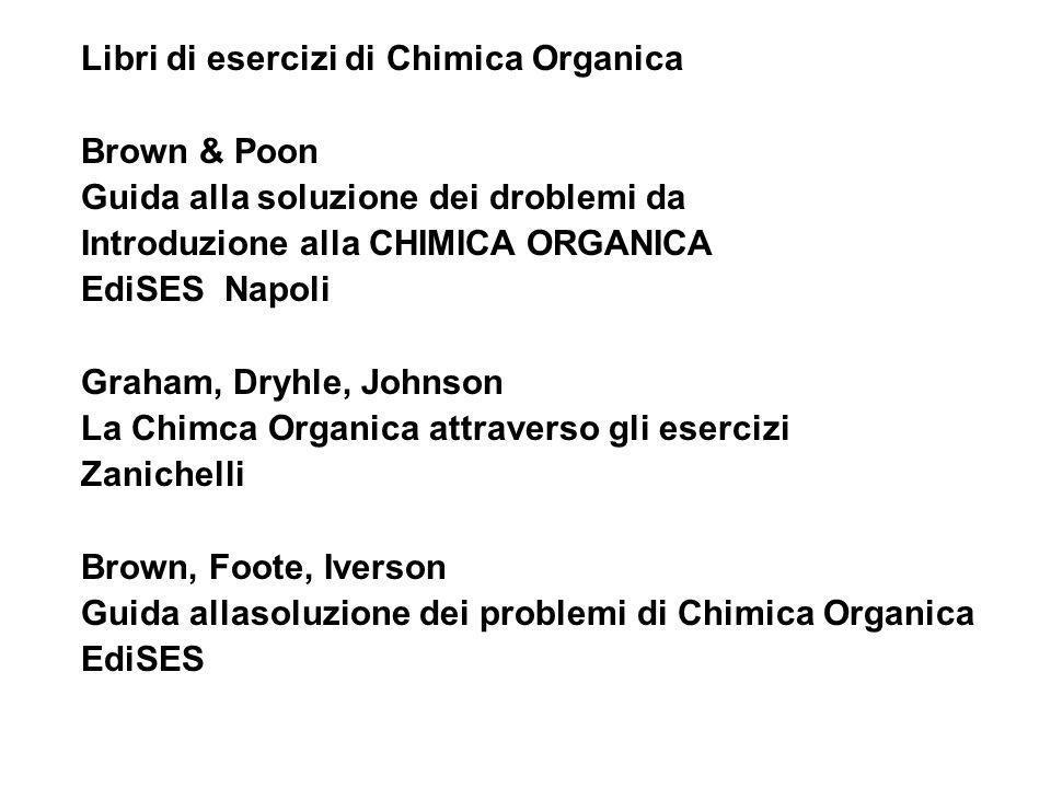 Libri di esercizi di Chimica Organica