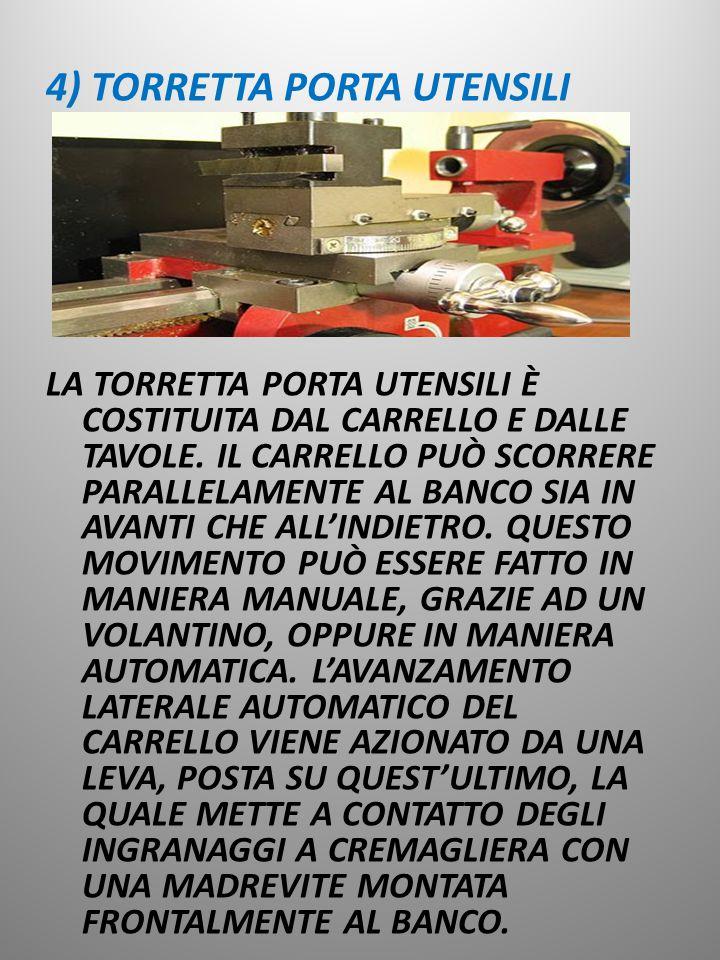 4) TORRETTA PORTA UTENSILI